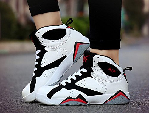 up A Size Spring HUAN Fall Shoes Shoes Lace Athletic Basketball PU Color Athletic Comfort 40 Men's Lovers Shoes ZaHq7