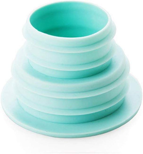 Satbir Alangh Tuyau Pest Control Anti-Odeur D/éodorant Silicone Gel Joint Anneau Machine /À Laver Piscine Sol Drain Bouchon D/étanch/éit/é Bleu