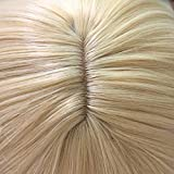 ColorGround Blonde Cosplay Wig and 2 Detachable