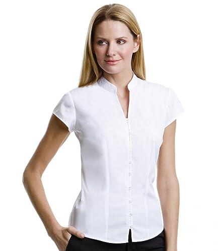 Blusa para mujer con cuello en V, de Kustom Kit