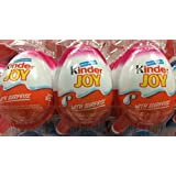 9 Pieces of Kinder Joy with Surprise (For Girl)