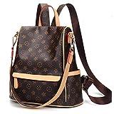 GTESCO Backpack,Designer Fashion Leather Backpacks Purse for Women Teens Girls (Medium, J)