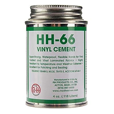 RH Adhesives HH-66 PVC 4 oz Vinyl Cement Glue with Br, HH-66 Pvc 4 Oz Vinyl Cement Glue with Brush