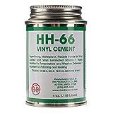 RH Adhesives Br, HH-66 PVC 4 oz Vinyl Cement Glue with Brush