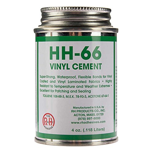 RH Adhesives Br, HH-66 PVC 4 oz Vinyl Cement Glue with Brush