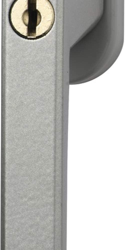 Abus Abschlie/ßbarer Fenstergriff FG110 Triples Silber