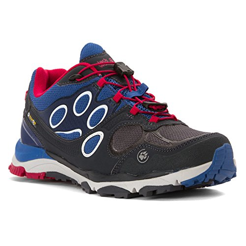 Jack Wolfskin Damen Trail Excite Texapore Low Blau