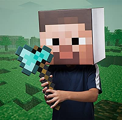 ThinkGeek Minecraft Diamond Axe - Chop Your Way to Minecraft Success from ThinkGeek
