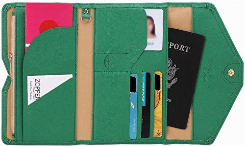 Zoppen Multi-purpose Rfid Blocking Passport Wallet (Ver.4) Organizer Holder