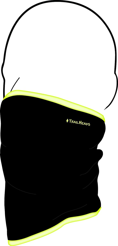 black//hi-vis TrailHeads Fleece Neck Warmer//Gaiter