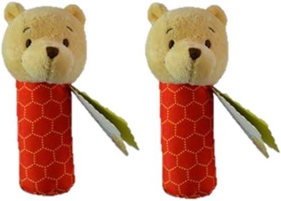 MPreview Disney Winnie The Pooh Plush Stick Rattle Set of 2