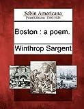 Boston, Winthrop Sargent, 1275759157