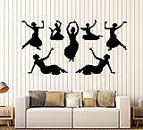 Andre Shop® Vinyl Wall Decal Indian India Dance Dancers Girls Devadasi Hindu Stickers Large Decor1907ig