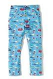 Girls Leggings Baby Kids Childrens Toddler Floral Print Leggings Pants (5T, Swimming cat)