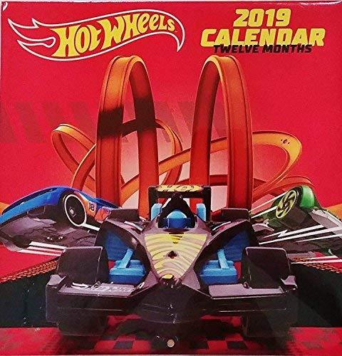 Calendar Wall 2009 Year (Hot wheels 2019 Wall Calendar 12 Month New Sealed 10