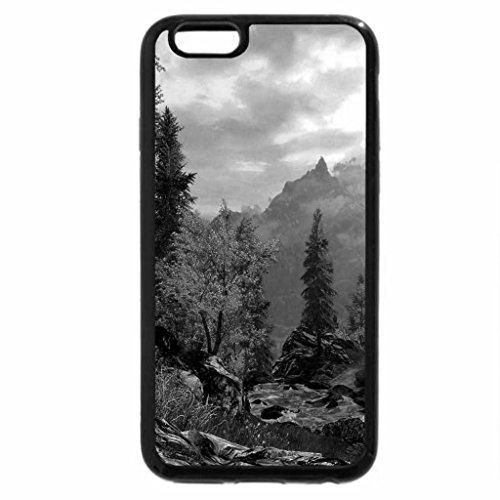 iPhone 6S Plus Case, iPhone 6 Plus Case (Black & White) - AUTUMN CREEK