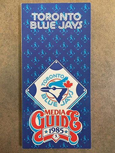 TORONTO BLUE JAYS MLB BASEBALL MEDIA GUIDE ROSTER 1985 EX+/NM