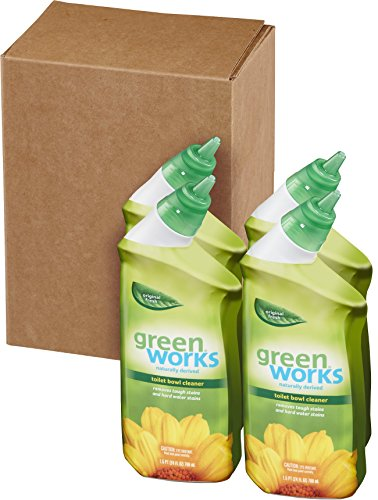 Green Works Toilet Bowl Cleaner 24 Ounce Pack Of 4