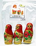 Russian Mini Matryoshka Nesting Dolls [3pcs/3'']