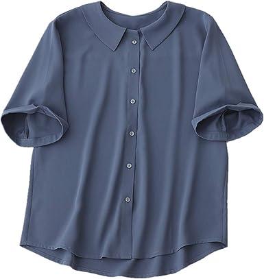 NOBRAND Camisa de verano para bebé, diseño de mujer, manga media pequeña, de gasa, de manga media Ol Temperament: Amazon.es: Ropa y accesorios