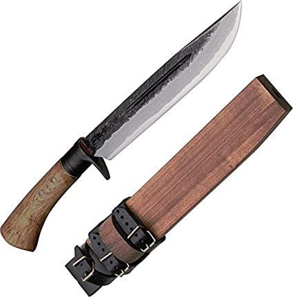 Kanetsune KB116 Fixed Blade,Hunting Knife,Outdoor,campingkitchen, One Size