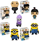 Despicable Me 2 Set of 5 Funko POP! Vinyl Figures