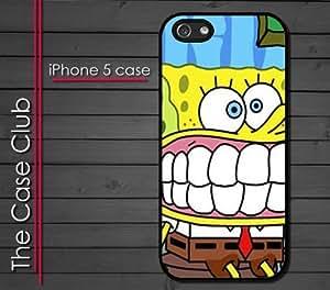 iPhone 5C (New Color Model) Rubber Silicone Case - Sponge Bob Square Pants Spongebob Squarepants