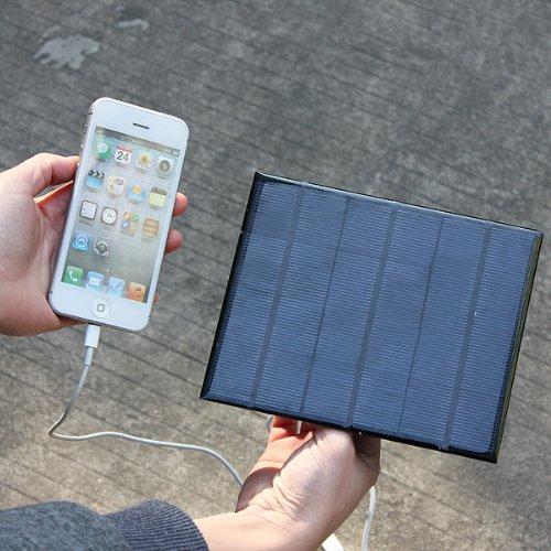 Panel Solar de viaje USB cargador de batería para iPhone HTC LG ...