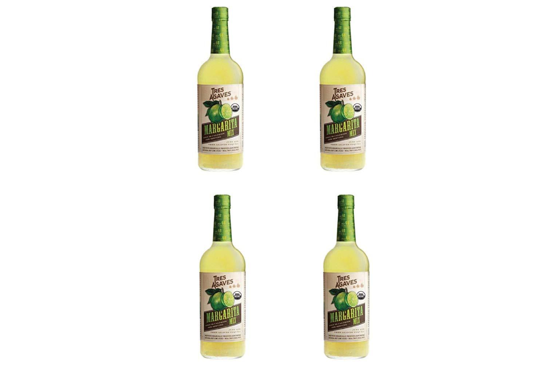 Tres Agaves Mix Margarita, 33.8 Fl Oz (4 Pack)