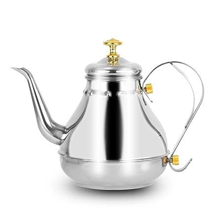 Compra Hervidor de té de Acero Inoxidable Court Pot Tetera Sin ...