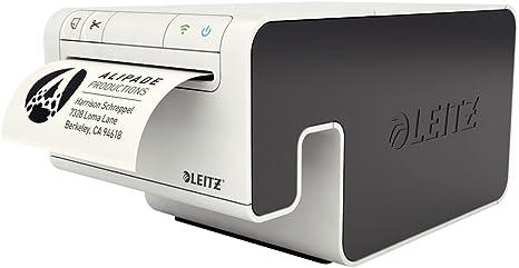 Impresora de etiquetas sin cables Leitz, incluye cartucho de papel ...