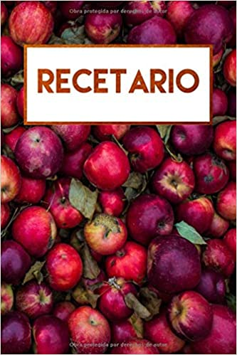 Recetario: Libreta en blanco a rayas, libro de recetas en blanco (Spanish Edition): Journals For Everyone: 9781726670845: Amazon.com: Books