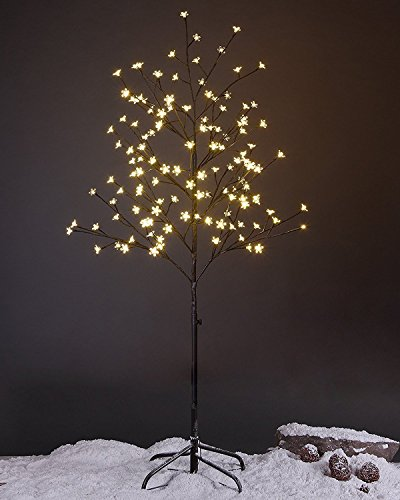 5 Ft Christmas Tree With Led Lights - 4
