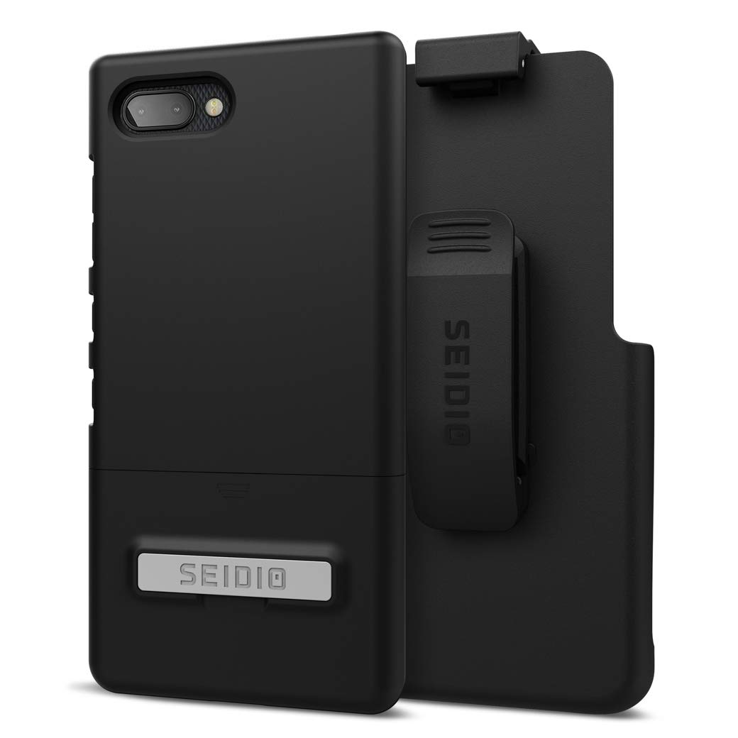 Seidio Surface Combo with Kickstand for BlackBerry Key2/Le (Black by Seidio