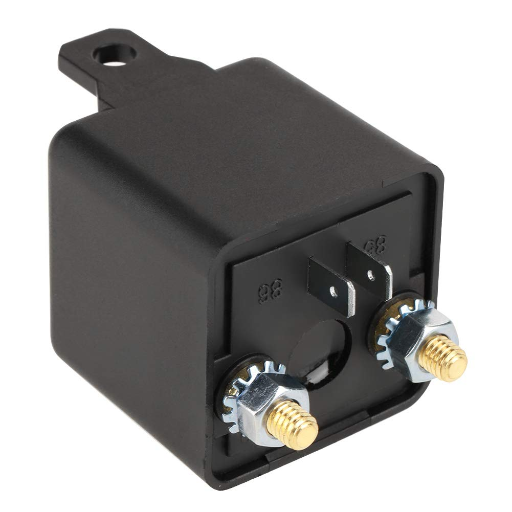 12VDC 100A 4 pin Normally Open Relay Heavy Duty car Starter Relay for Control Battery on//Off