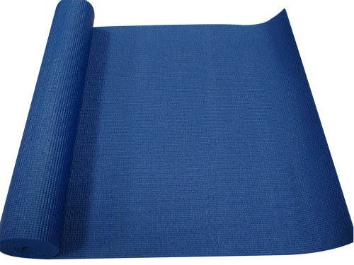 Yoga Direct Oversized Yoga Mat Blue 36-Inches