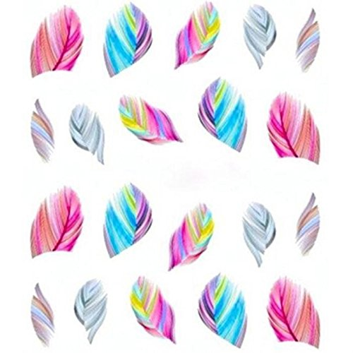 Beautiful Women's Feature Nail Art Water Transfer Decal Sticker Nail Art Tip Decoration