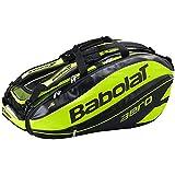BABOLAT Pure Aero Tennis Racquet Holder Bag Yellow 12, 9, 6, 3