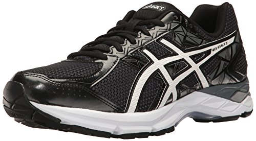 ASICS Men's Gel-Exalt 3 Running Shoe Black/White/Carbon 10.5 M US