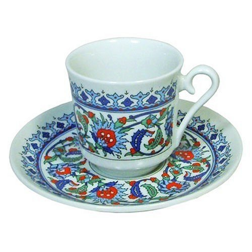(Turkish Coffee Set (Cup and Saucer))