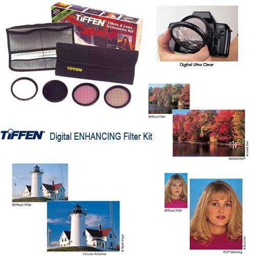 Tiffen 43mm Digital Enhancing Filter Kit