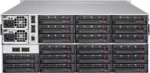 Supermicro SC847 JBOD 4U RM 44 Bay Black 1280W RPS W/SAS3 SGL Expander JBOD CSE-847E1C-R1K28JBOD