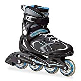 Bladerunner by Rollerblade Advantage Pro XT Women's Adult Fitness Inline Skate, Black and Light Blue, Inline Skates