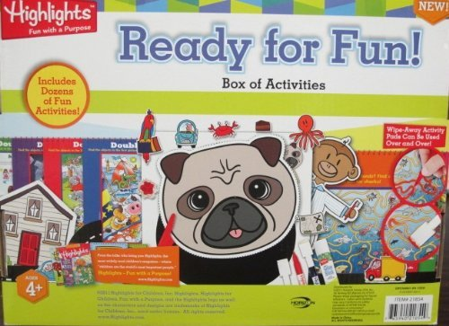 mejor calidad mejor precio Highlights Highlights Highlights Ready for Fun Activity Box by Highlights  gran descuento