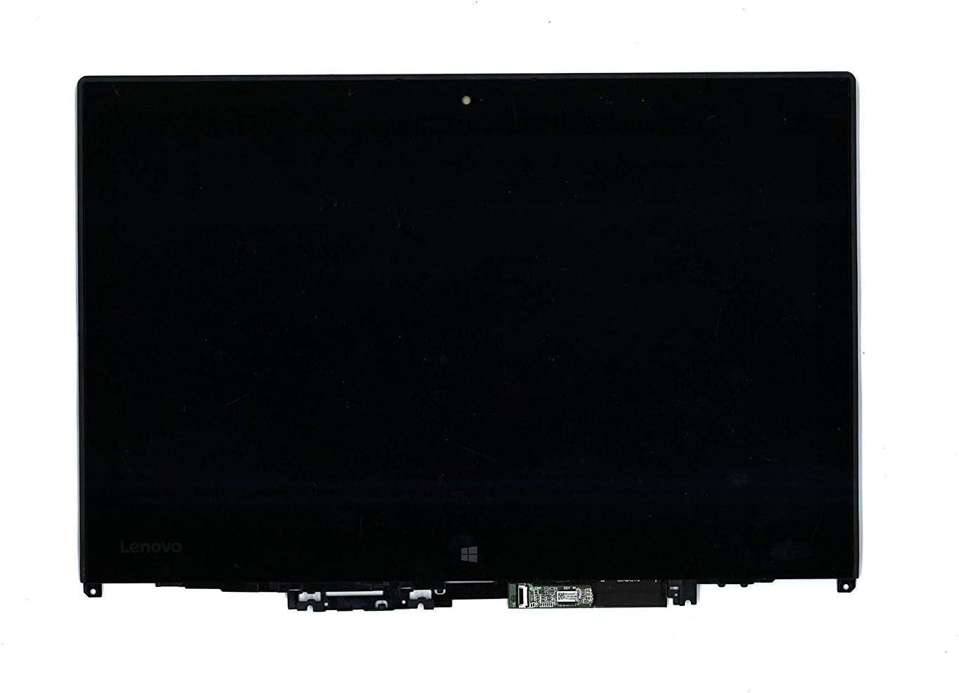 "Screen Expert 12.5"" WXGA HD 1366x768 LCD Screen LED Touch Panel with Bezel Frame Assembly for Lenovo ThinkPad Yoga 260 FRU:01ax905 01ax903"