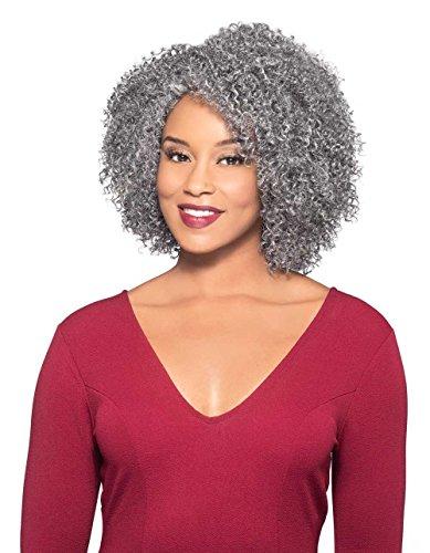 Alina Wig Color 51 Light Gray - Foxy Silver Wigs 14