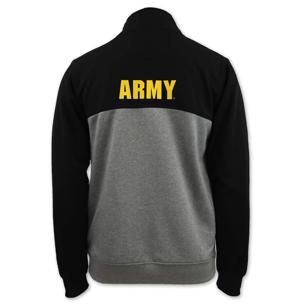 Army Star Colorblock Performance 1//4 Zip Fleece