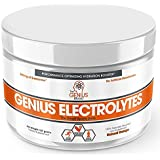 Genial Electrolyte Powder – Natural Hydration Booster | Endurance Supplement with Electrolytes (Potassium, Magnesium, Zinc) - Sugar Free, Vegan, Keto Friendly Energy - Orange Fizz (Drink Mix), 30 Sv