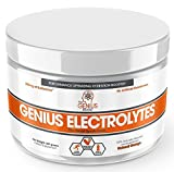 Genius Electrolyte Powder – Natural Hydration Booster | Endurance Supplement with Electrolytes (Potassium, Magnesium, Zinc) - Sugar Free, Vegan, Keto Friendly Energy - Orange Fizz (Drink Mix), 30 Sv