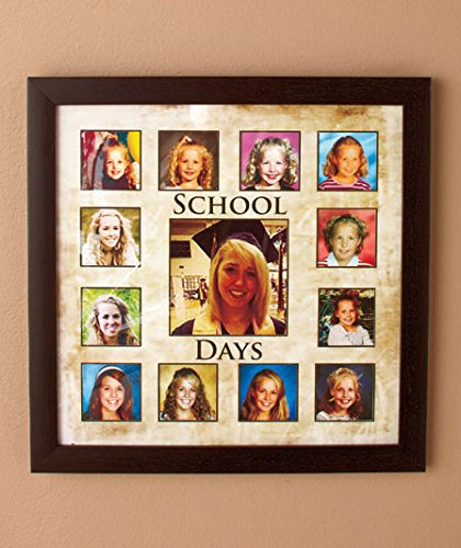 Amazon.com - School Days Through the Years Keepsakes Frame -